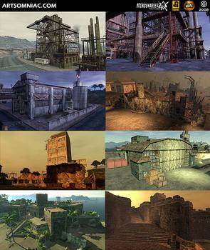 Mercenaries 2 in-game art