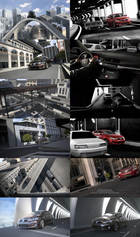 Lexus commercials by Artsomniac