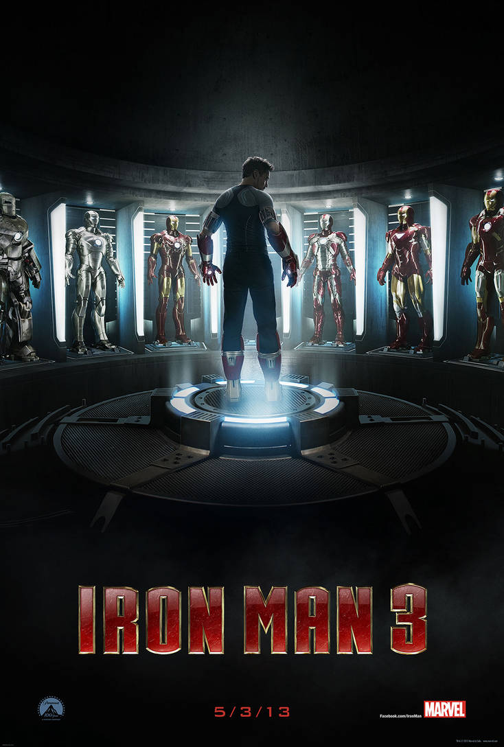 Ironman 3 poster by Artsomniac