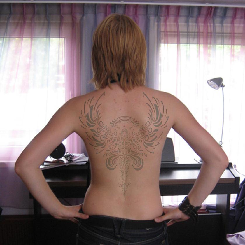 dragon waterfall tattoo. japanese waterfall tattoo. Waterfall Tattoo Back. Anna tattoo on ack;