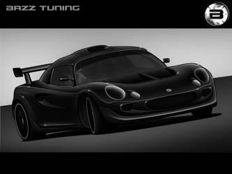 Lotus Elise Racer Toon - Black