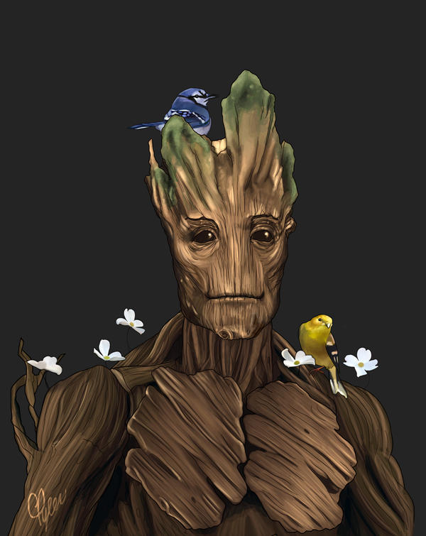 Groot by ctyler