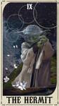 Star Wars Tarot Deck - IX The Hermit