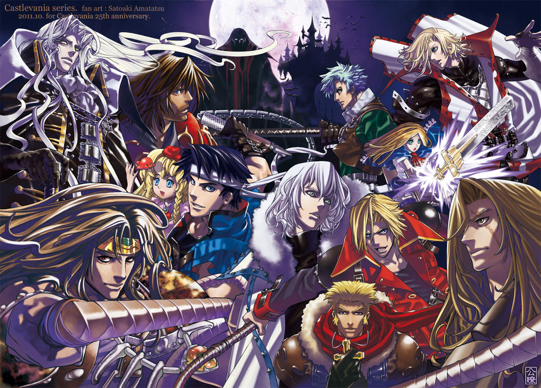 Castlevania Hunters by SatoakiAmatatsu