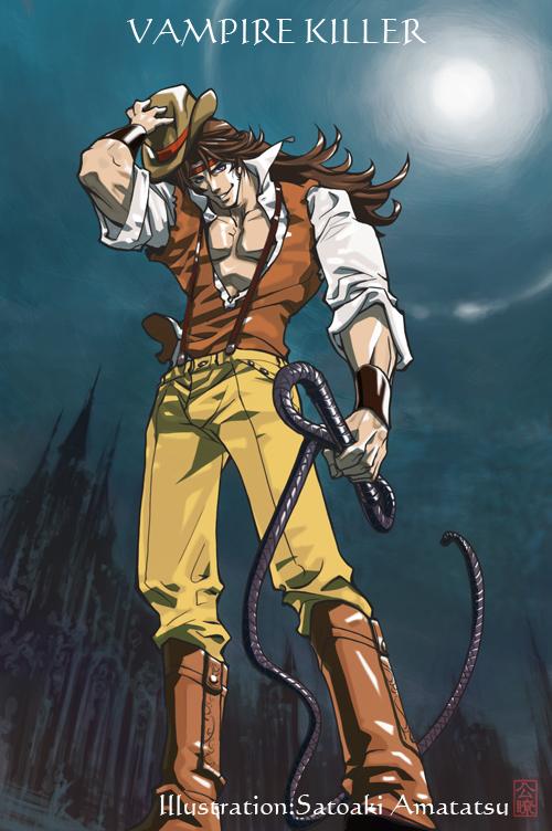 Castlevania VAMPIRE KILLER John Morris by SatoakiAmatatsu