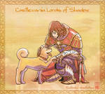 Gabriel and doggie : Castlevania Lords of Shadow