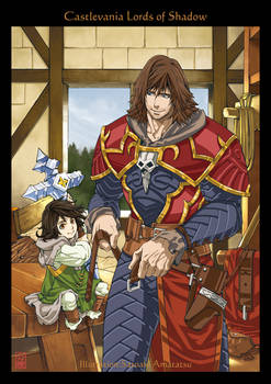Gabriel and Trevor : Castlevania Lords of Shadow by SatoakiAmatatsu