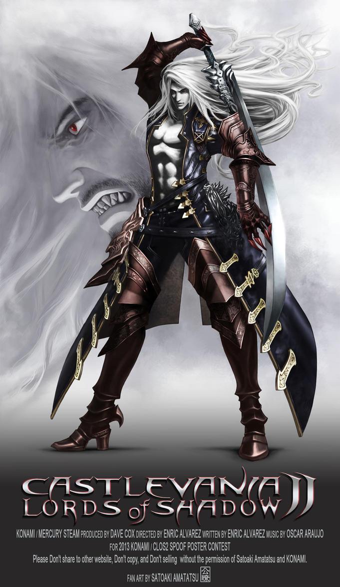 ALUCARD Castlevania Lords of Shadow 2 by SatoakiAmatatsu