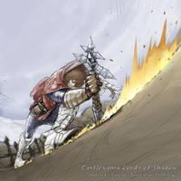 Gabriel's fight. by SatoakiAmatatsu