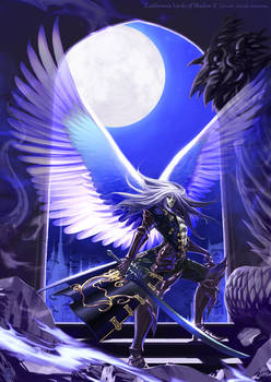 Trevor/Alucard Moonlight wings by SatoakiAmatatsu