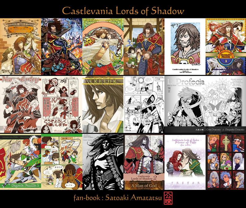Castlevania Lords of Shadow fanbook by SatoakiAmatatsu