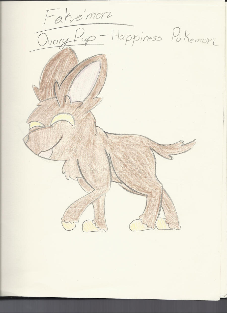Fakemon OvoryPup by PinkuFootsie