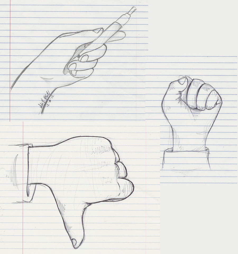 A Buncha' Hands by PinkuFootsie