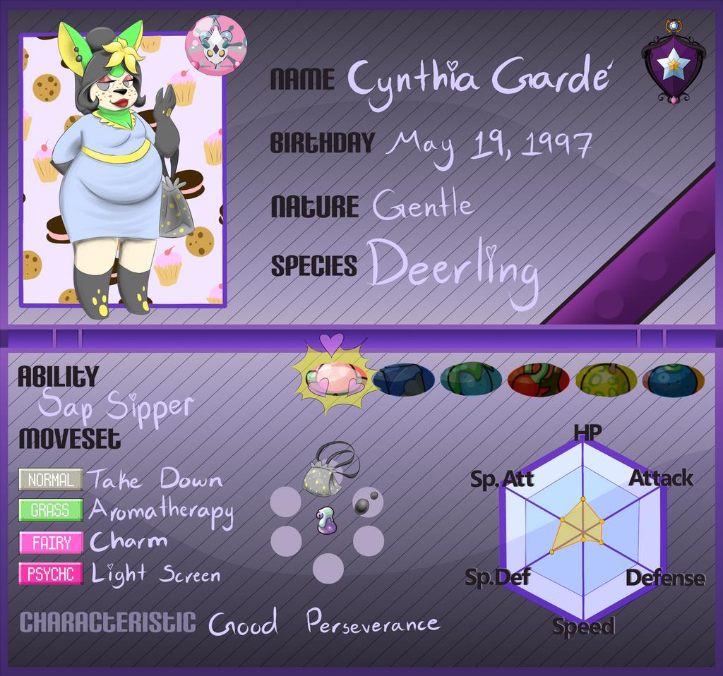 pkmnA - Cynthia Garde by PinkuFootsie