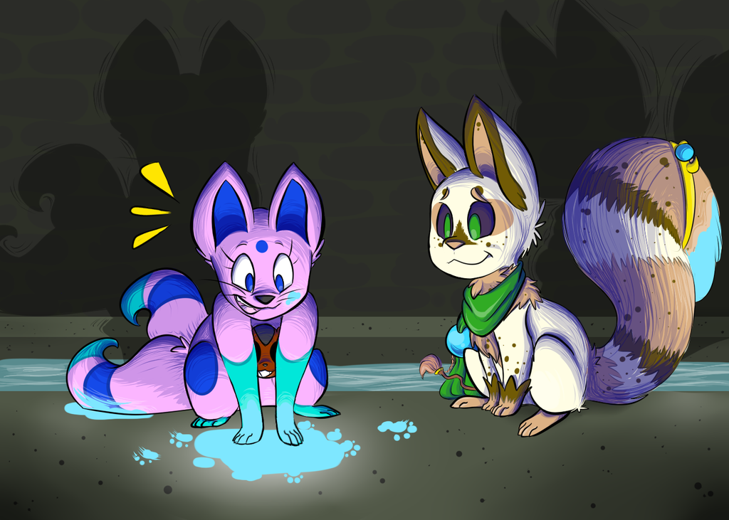 This Stuff is Awesome - KrosFox by PinkuFootsie