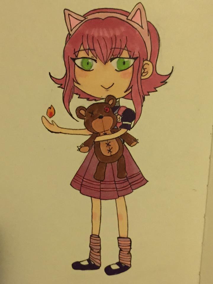 Annie #inktober by gekkoyuki73