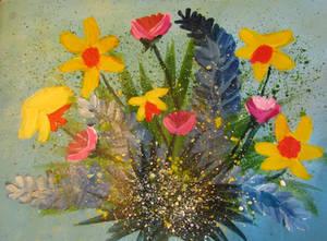 Flowers in bloom by ART-byLinda
