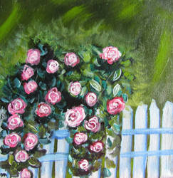 Rosey Fence