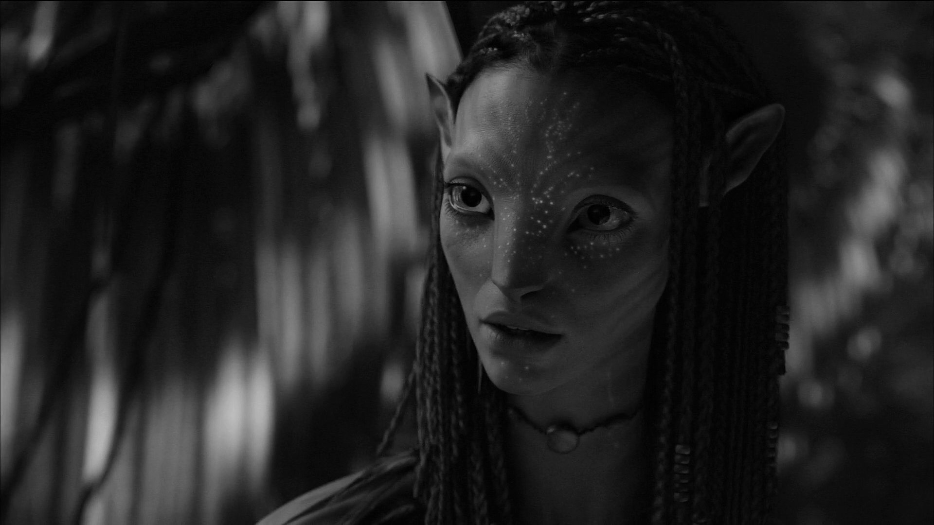 Avatar neytiri black and white by prowlerfromaf on deviantart - Black and wait ...