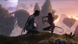 Avatar Jake and Neytiri by Prowlerfromaf