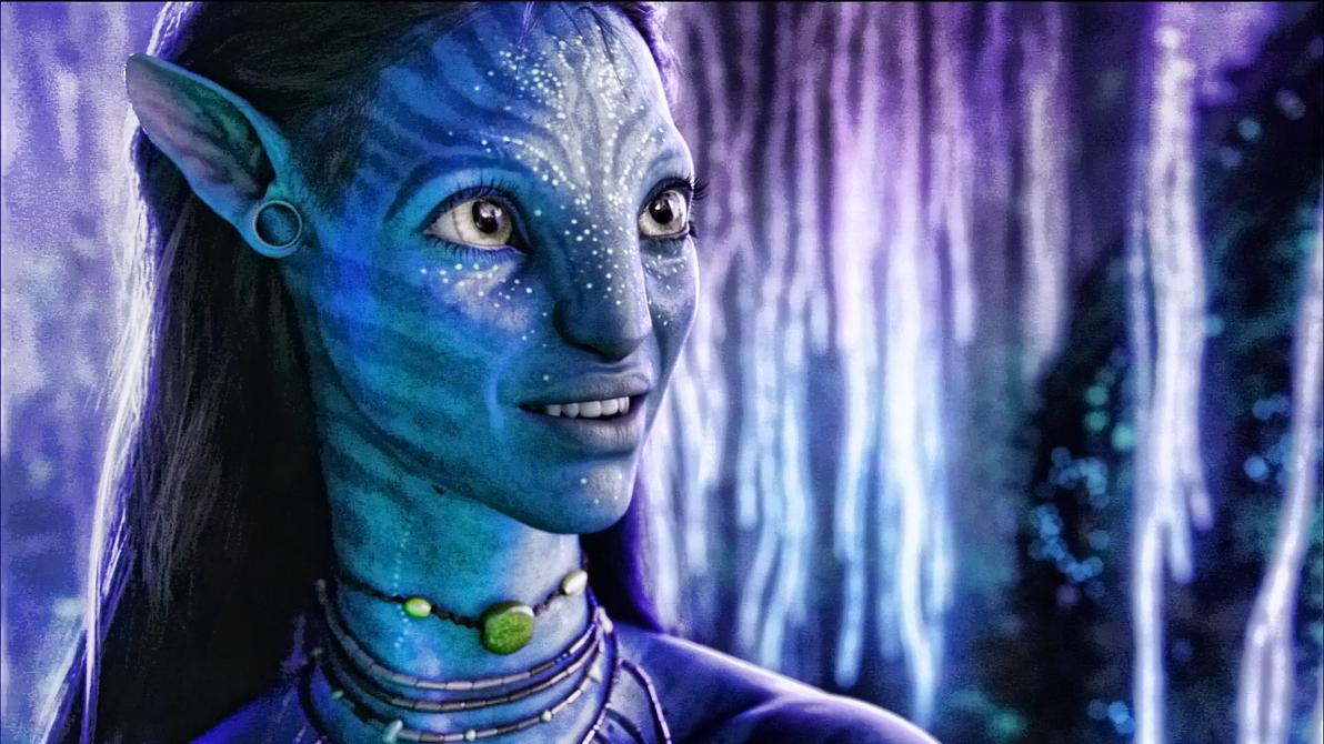 Avatar Neytiri edit by Prowlerfromaf