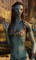Avatar Neytiri by Prowlerfromaf