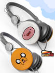 ''Adventure Time'' custom headphones