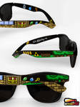 Legend of Zelda handpainted Sunglasses