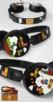 Super Mario headphones