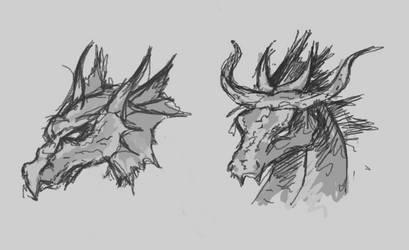 Dragon by Qwygl