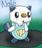 Nale the oshawott by Azalonozul