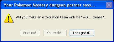 Pokemon Mystery Dungeon by darkness-angel-wolf