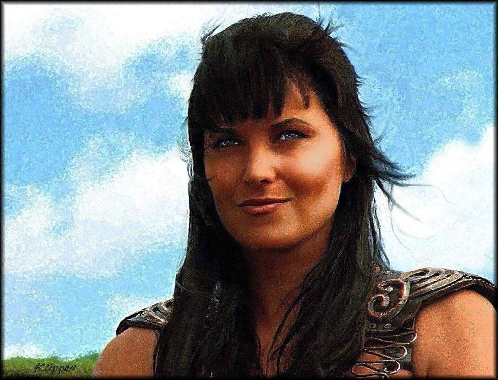 Xena Smiles Gabrielle - OAAA by ARTbyKLIPP