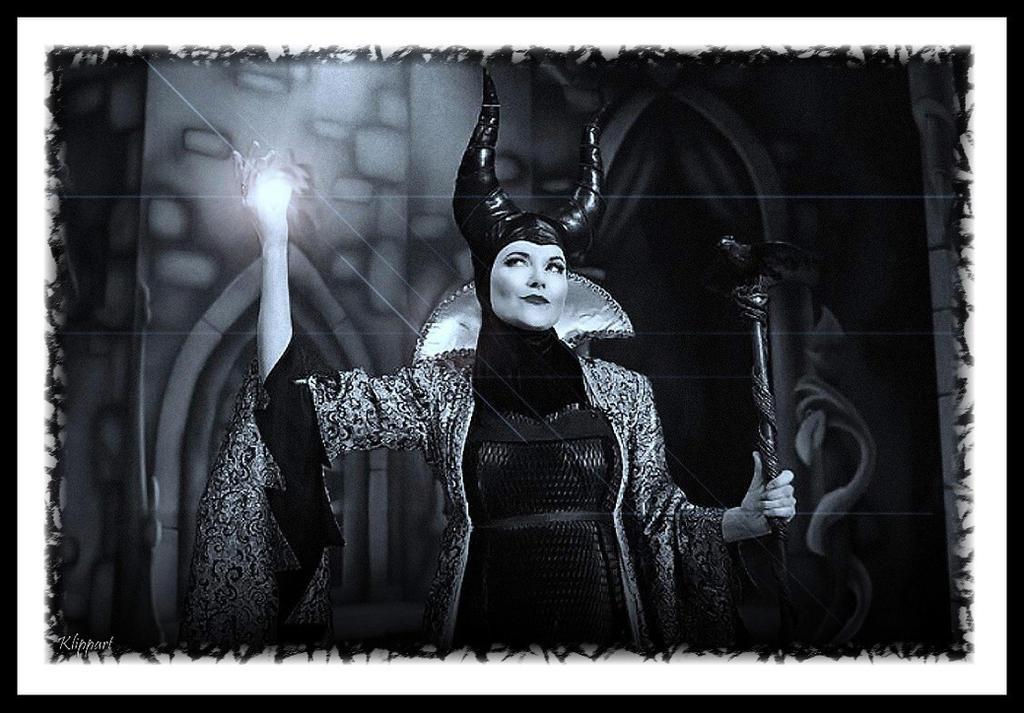 Lucy Lawless as  Carabosse (3) by ARTbyKLIPP