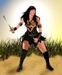 Xena Sword Stance