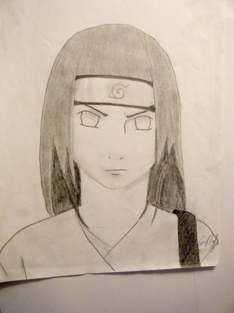Neji from Naruto by Lemon-Yelloww