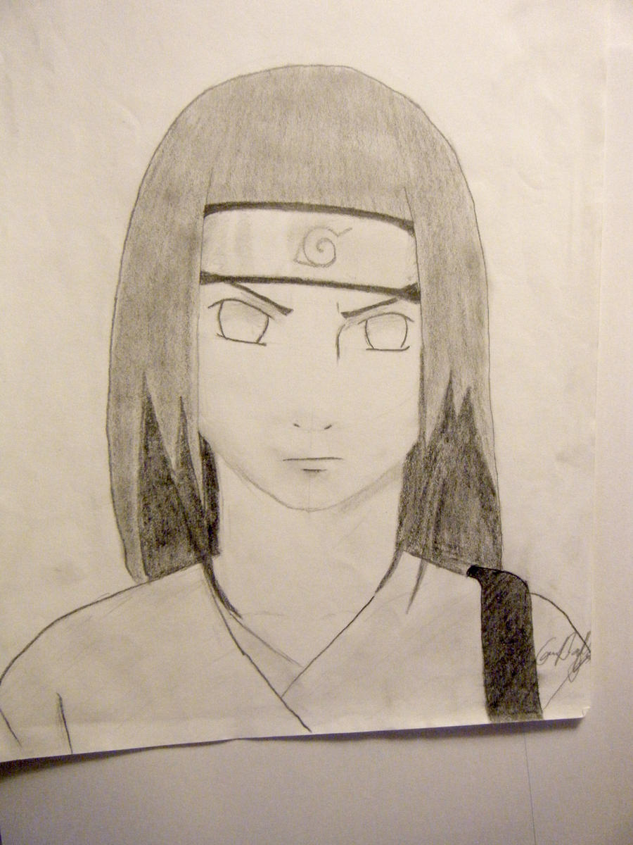 Neji from Naruto by Lemon-Yelloww