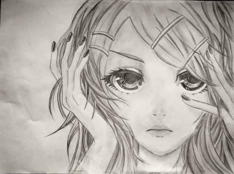 Make Up (Akiakane/Kagamine Rin Fanart) by Lemon-Yelloww