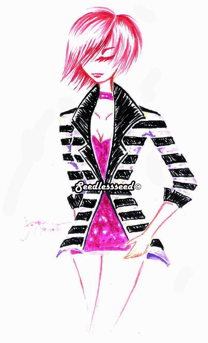 _black_white_pink_ by seedlessseed