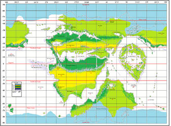 Geographical-map-Annotated-degrees