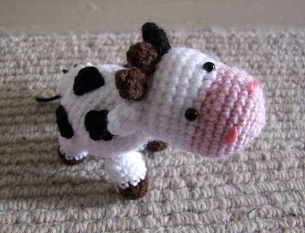 Amigurumi Cow By Corpsified On Deviantart