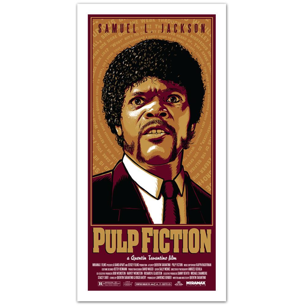 Pulp Fiction Samuel L Jackson Art