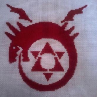 Ouroboros Cross Stitch By Theskandranon On Deviantart