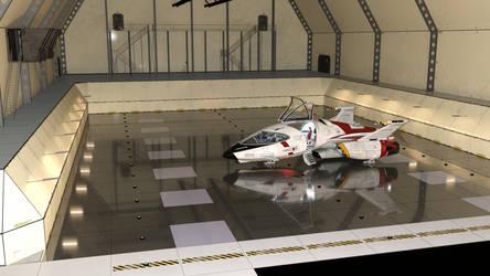 Hangar on Poseidon - Shuttlstar