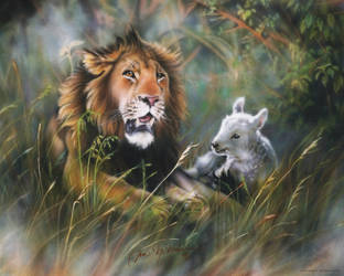 Lion and The Lamb by DanMcManis