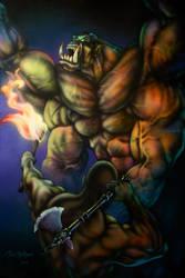 Monster in the Dark by DanMcManis