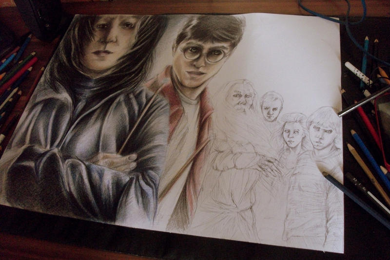 wip harry by Telemaniakk