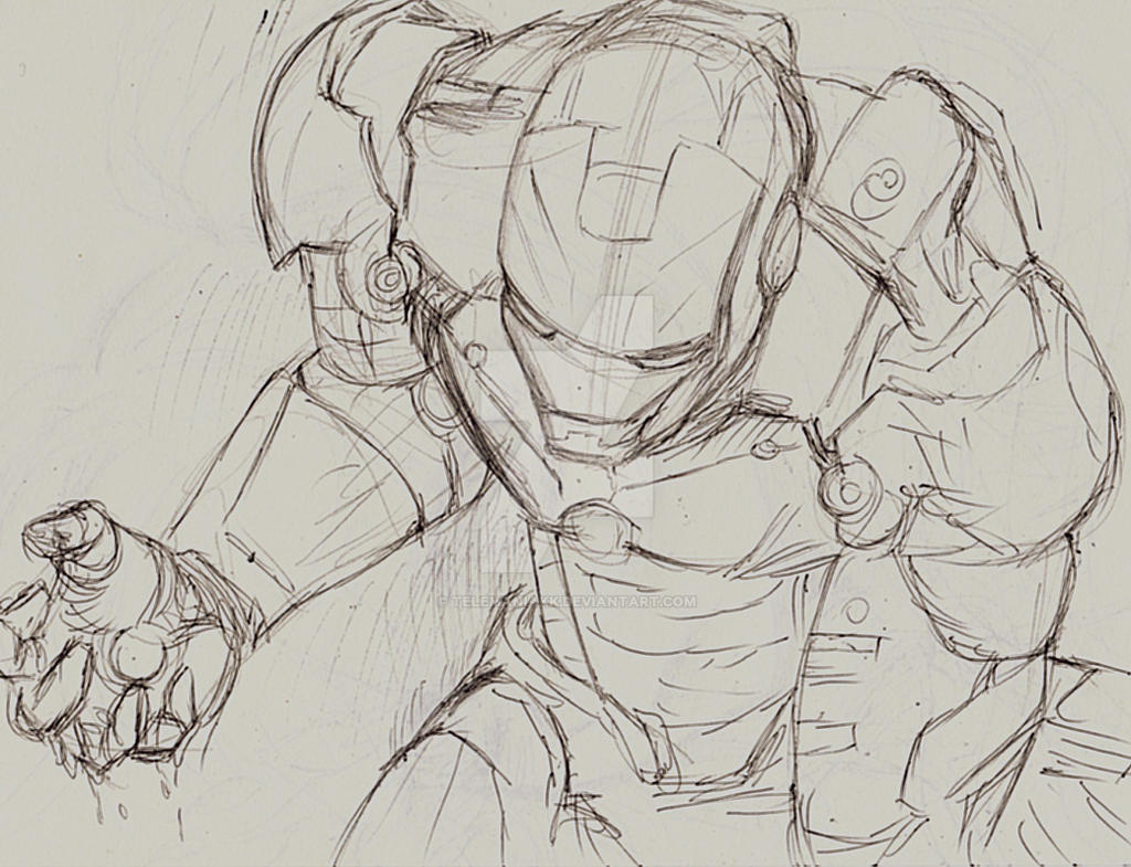 wip iron men by Telemaniakk
