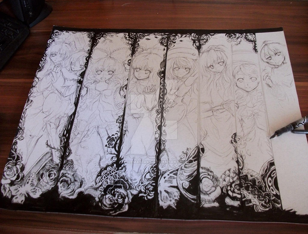 Rozen Maiden wip by Telemaniakk