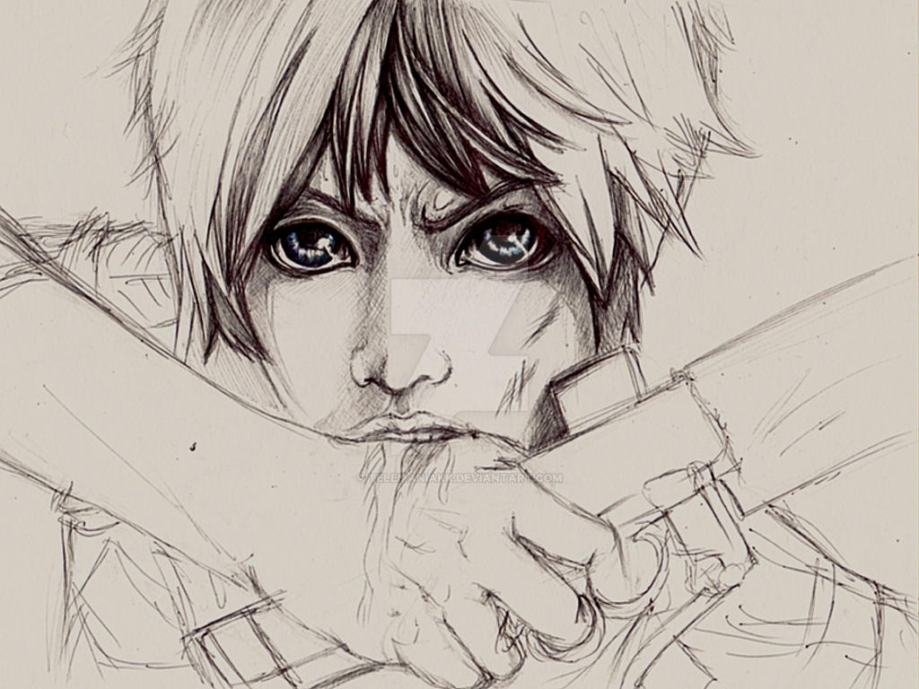 Eren wip by Telemaniakk